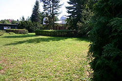 V této části areálu Hvězdárny Valašské Meziříčí bude vybudován geopak