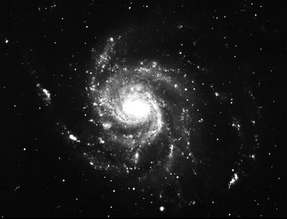 Galaxie M101 Větrník