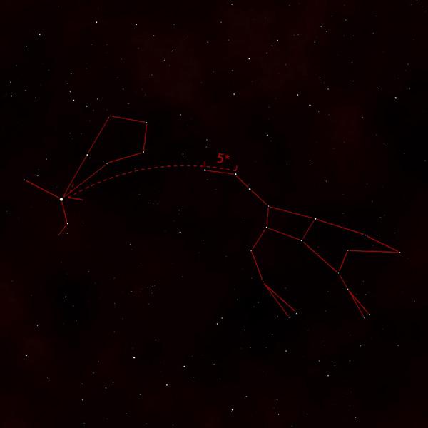 Jak nalézt souhvězdí Pastevec