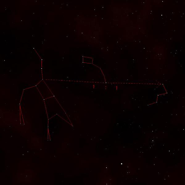 Jak nalézt souhvězdí Kassiopea