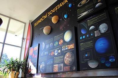 Nová stálá expozice ve vstupní hale valašskomeziříčské hvězdárny