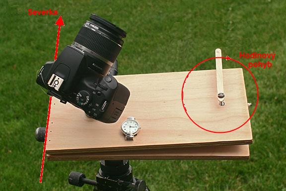 Obrázek 3: Paralaktický stolek