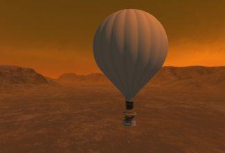 Návrh balónu k výzkumu Titanu