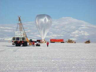 Příprava startu balónu s aparaturou TIGER