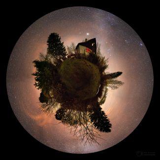 Malá planeta je oblíbeným kulovým panoramatem
