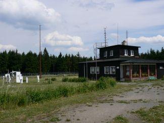 Profesionální (synoptická) stanice na Červené