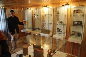 V Ballnerově hvězdárně najdete zajímavou expozici meteorologických přístrojů.