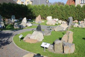 Geopark skýtá přehled několika desítek druhů hornin pocházejících z Karpat.