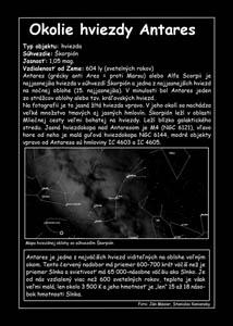 Okolie hviezdy Antares