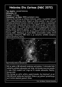 Hmlovina okolo hviezdy Eta Carinae