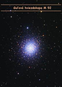 Guľová hviezdokopa M 92