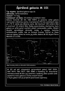 Špirálová galaxia M 101