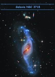 Galaxia NGC 3718